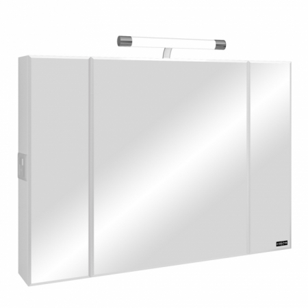 Зеркальный шкаф Санта Стандарт 100 свет